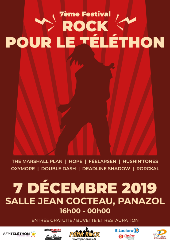 Festival Rock Pour le Téléthon 2019