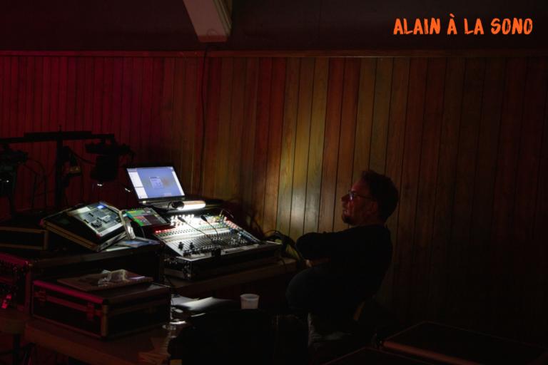 Nuit de la Samain 2019 - Alain à la Sono