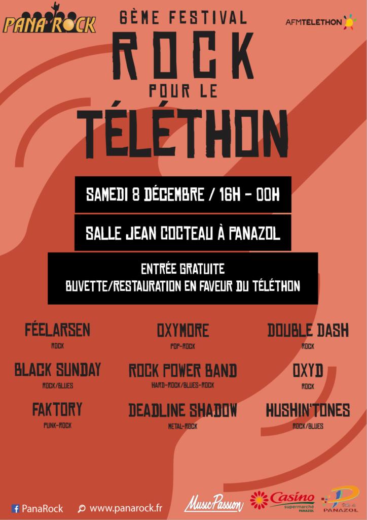 Festival Rock Pour le Téléthon 2018