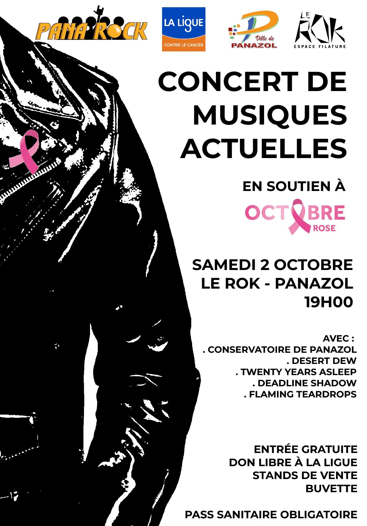 Concert Musiques Actuelles 02/10/2021