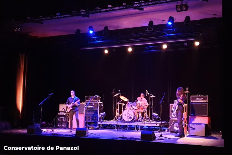 Concert Musiques Actuelles 2021 - Conservatoire